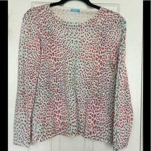 Animal Print cotton Sweater